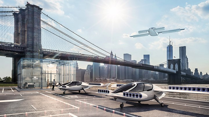 Lilium reports successful air taxi flight