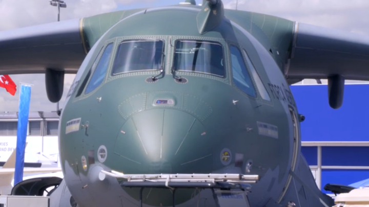 "Onboard Embraer's KC-390: ""More than a tanker"""