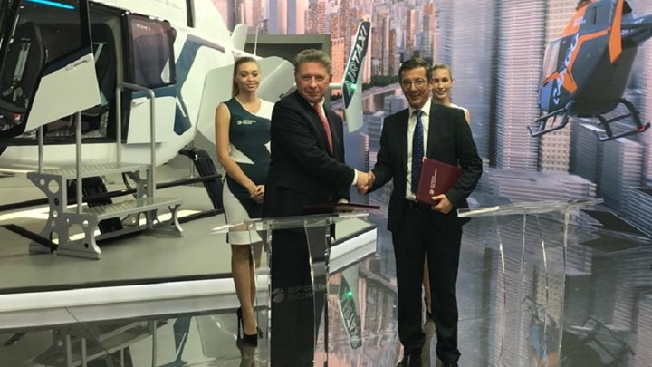 Liebherr-Aerospace to supply environmental control system for VR-Technologies VRT-500