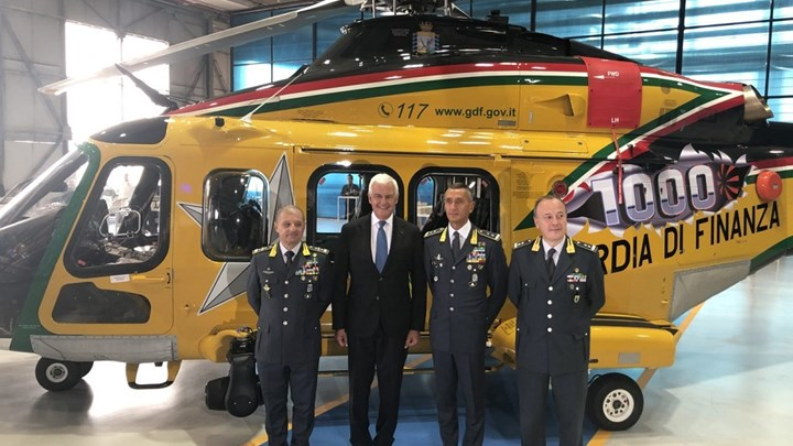 Leonardo delivers 1,000th AW139 helicopter