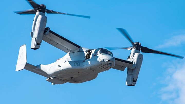 Bell Boeing V-22 Osprey fleet tops 500,000 flight hours