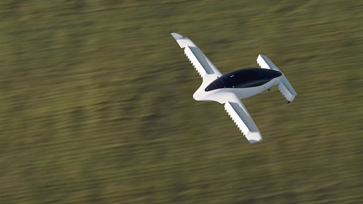 Lilium Jet completes first phase of flight testing